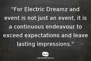 Event Management Company | Singapore | Electric Dreamz