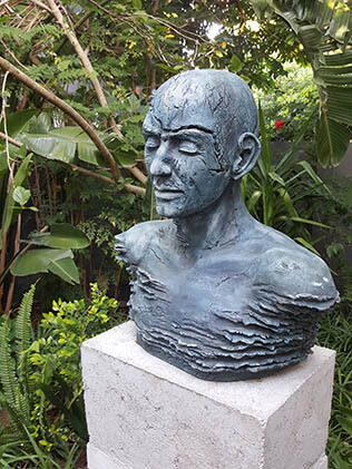 Sculpture Garden Sculptures, Aqua