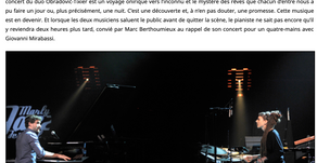 Citizen Jazz Article by Denis Desassis
