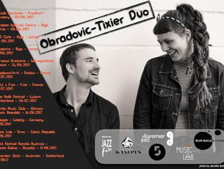 Summer Tour Obradovic-Tixier Duo