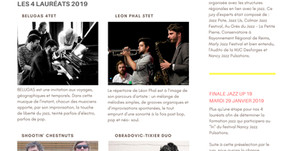 Lauréats Jazz Up 2019 Nancy Jazz Pusations