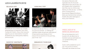 Lauréats Jazz Up 2019 Nancy Jazz Pusations