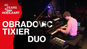 The Obradovic-Tixier Duo at B-Jazz International Competition 2019