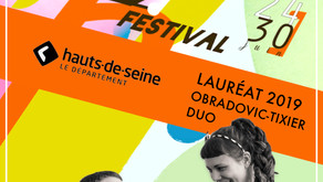 PRIZE WINNER OF LA DEFENSE JAZZ FESTIVAL 2019