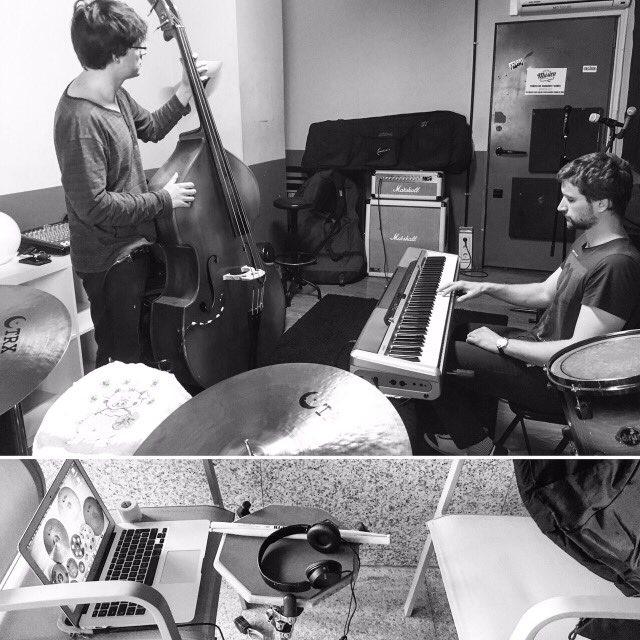 rehearsal in Madrid