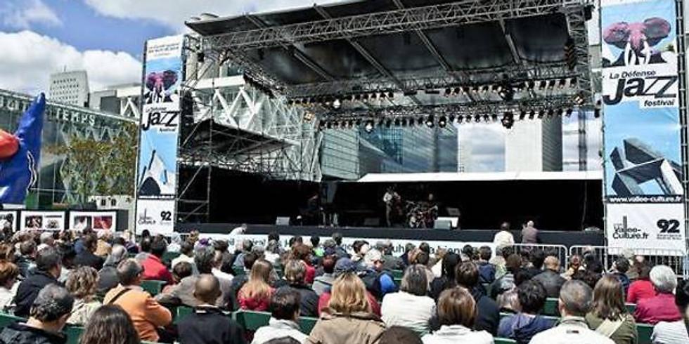 Obradovic-Tixier Duo - La Défense Jazz Festival, Paris, FR