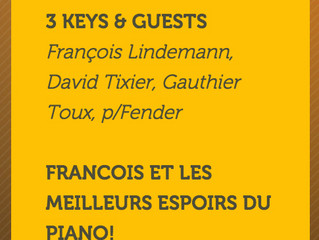 Chorus Jazz Club - 4th of December - 3 keys concert