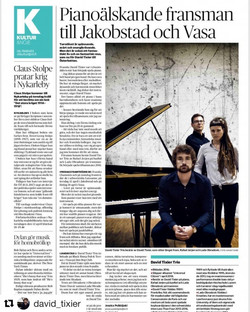 Article in Finland newspappers