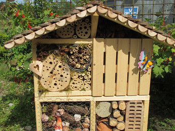 "Anmeldung Kurse ""Insektenhotels bauen"""