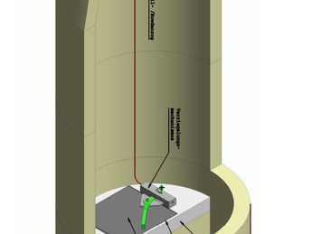 Neuheit: Verschlusssystem für Kombischächte, entwickelt von Werner Renggli, Projektleitung Renggli B