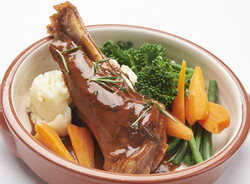 Lamb Shank In Red Wine