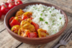 Chicken jalfrezi healthy traditional Ind