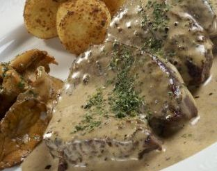 Braised Beef In Cream & Brandy