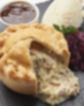 Chicken, Leek & Ham Deep Fill Pub Pie