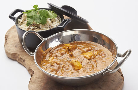 Buttered Chicken Balti Curry From OJ Sit