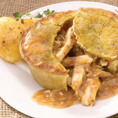 Chicken Deep Fill Pie
