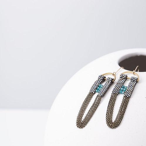 Arch Apatite earrings
