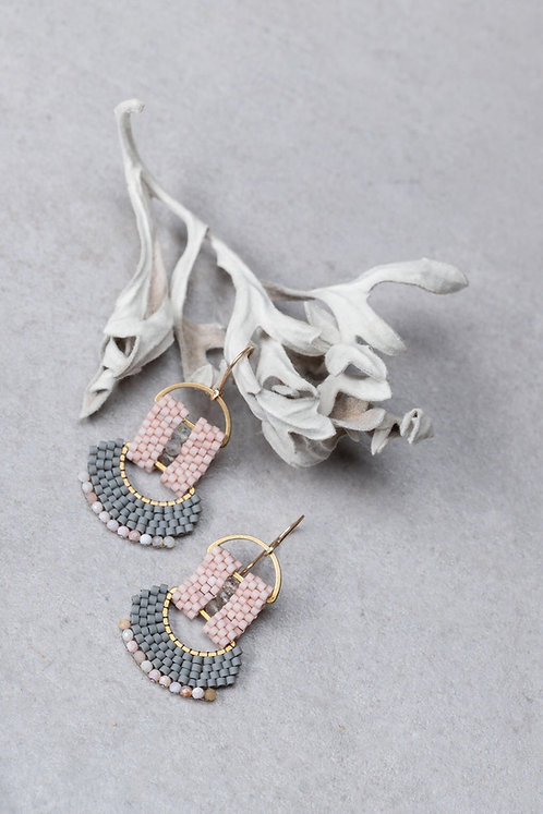Fan Earrings    (More colors)