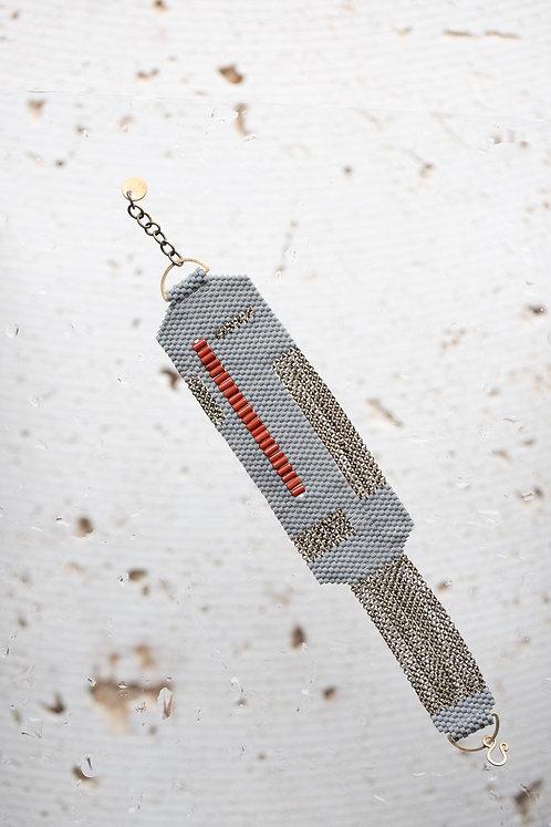 E Bracelet (Grey)