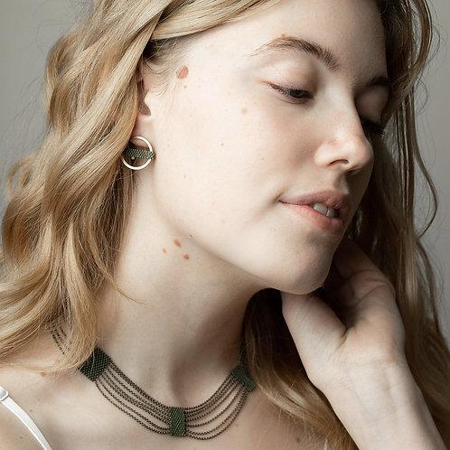 Circle earrings   (More colors)