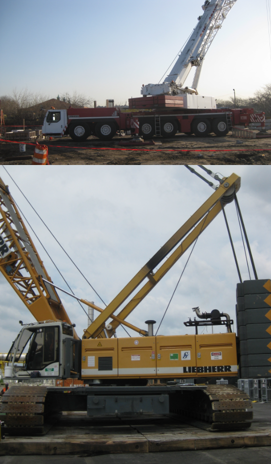 Mobile Crane Installation Design