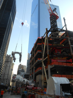 Construction of World Trade Center Tower 3; Manhattan, NY