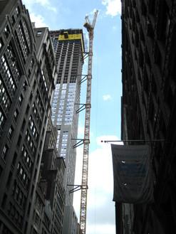MoMA Tower under construction; Manhattan, NY