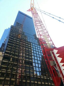 Construction of 575 Lexington Avenue; Manhattan, NY