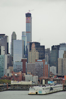 432 Park Avenue in late stages of construction; Manhattan, NY