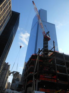 Construction of World Trade Center Tower 3; Manhattan, NY