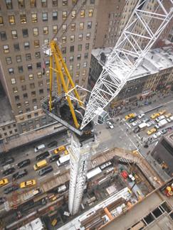 Construction Crane; Manhattan, NY