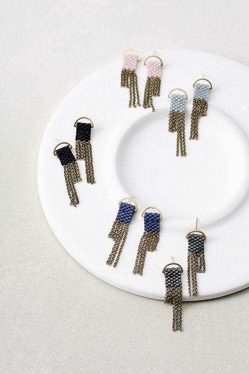 Wei stud earrings