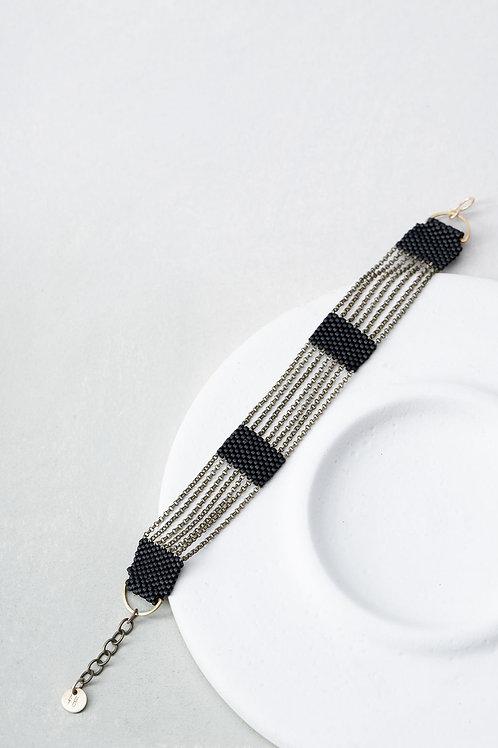 Silo black bracelet