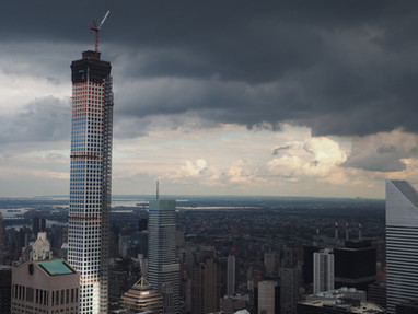 432 Park Avenue under construction; Manhattan, NY