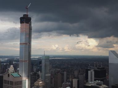 432 Park Avenue under construction; Manhattan, NY