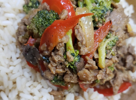 Influenced By Meal: Vegan Beef & Broccoli