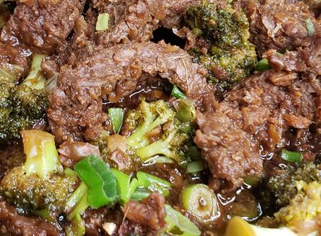 Vegan Mongolian Beef & Broccoli