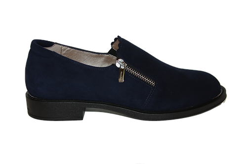 BLUE NAVY SUEDE