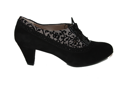 ANTONIA BLACK GRAY BAROQUE