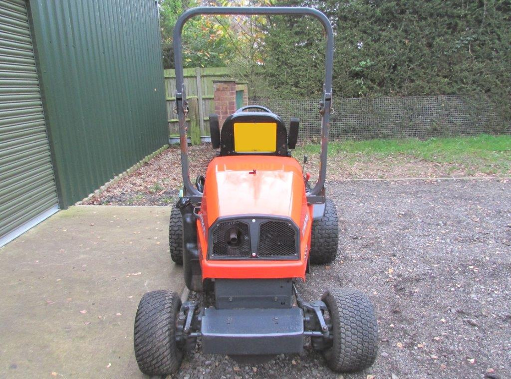 Kubota Outfront Flail Mower