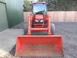 Kubota M6040 Tractor c/w Loader