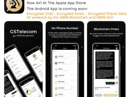 GSTelecom, Secure & Encrypted Chat, Email & Phone Calls on the Blockchain