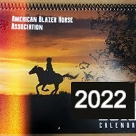 2022  calendar page with your horse on it.