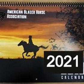 2021  Calendar/American Blazer Horse