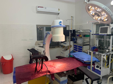 Well Equipped operation Theatre with attached lab services & Pharmacy facility