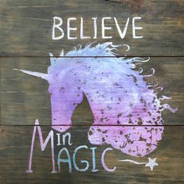 Believe in Magic Sign