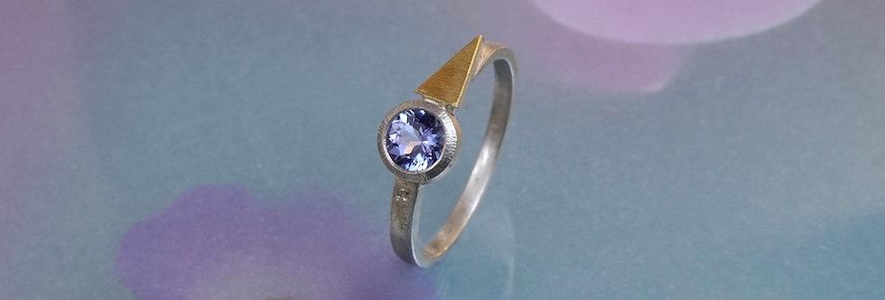 Silber: Ring Tansanit