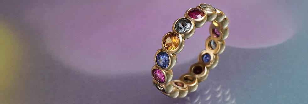 Ring Saphir Mémoire 16