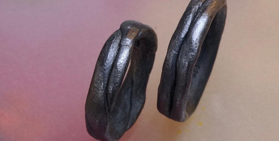 Zopf #4 (oxidiert, Preis pro Ring)