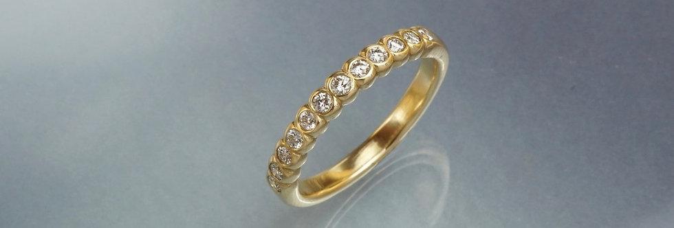 Ring Brillant Mémoire 12 (halb)